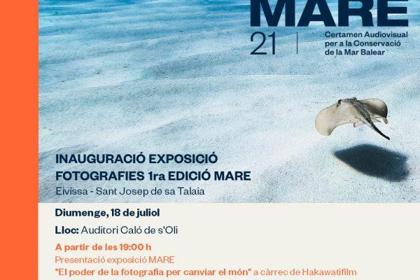 Invitacio expo MARE 18 julio 21 CAT